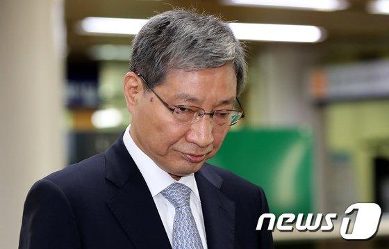 장충기 전 삼성전자 미래전략실 차장. /뉴스1 © News1 성동훈 기자