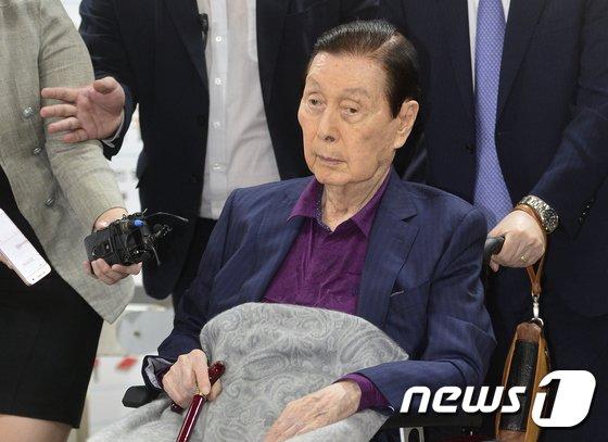 신격호 롯데그룹 총괄회장 © News1 신웅수 기자