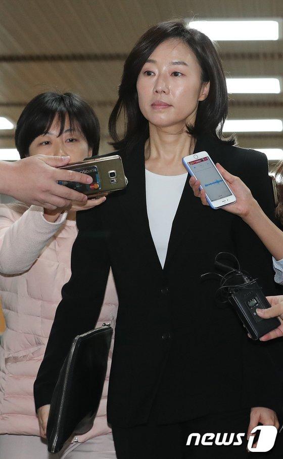 [사진]조윤선 '법정으로'