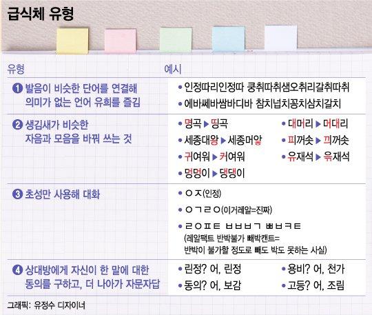 """'띵곡' 'ㅇㅈ' 급식체…""""10대 문화"""" vs """"언어 파괴"""""""