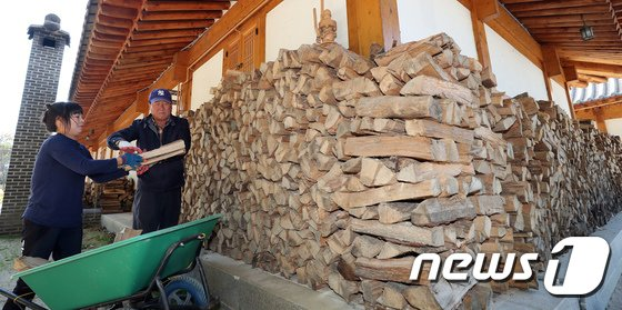 [사진]공주한옥마을의 겨울 준비