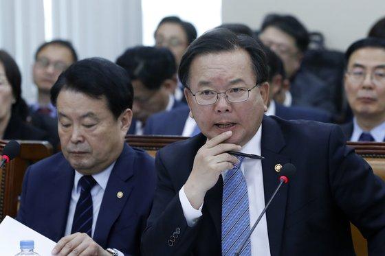 김부겸 행정안전부 장관/뉴스1