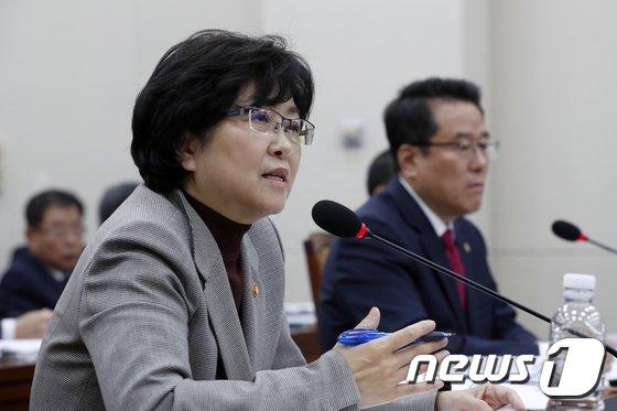 김은경 환경부 장관 © News1 안은나 기자