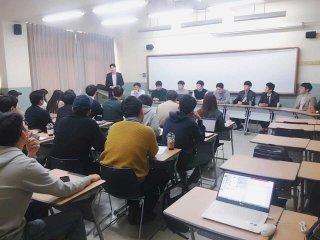 하반기 바른취업스쿨 멘토링 시간/사진제공=더와이파트너스