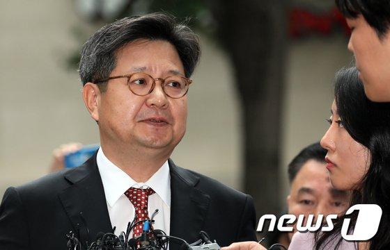 김장겸 MBC 사장/뉴스1 © News1
