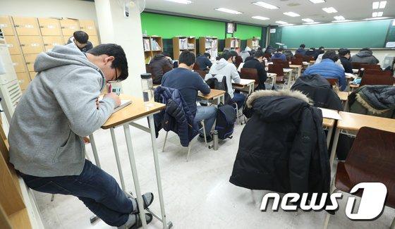 [사진]'졸려도 참아야 한다'