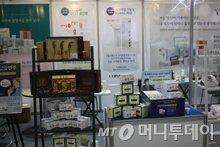 다양한 제품을 선보인 루바스바이오제약 전시장/사진=김수종 에디터