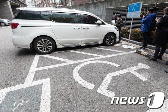 [사진]장애인전용주차구역 불법주차 합동점검 실시
