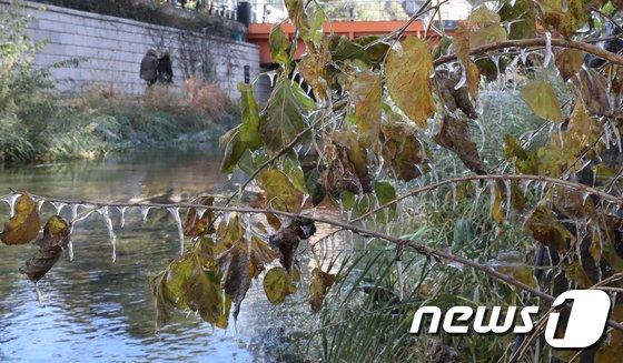[사진]얼어붙은 서울