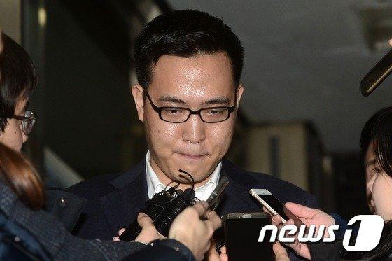 김승연 한화 회장의 셋째 아들 김동선 전 한화건설 팀장. /뉴스1 © News1 민경석 기자