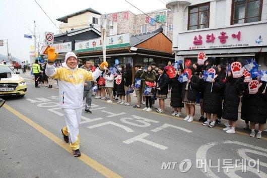 '2018평창 올림픽', 성화 봉송 첫 주자로 나선 조재윤 나주부시장