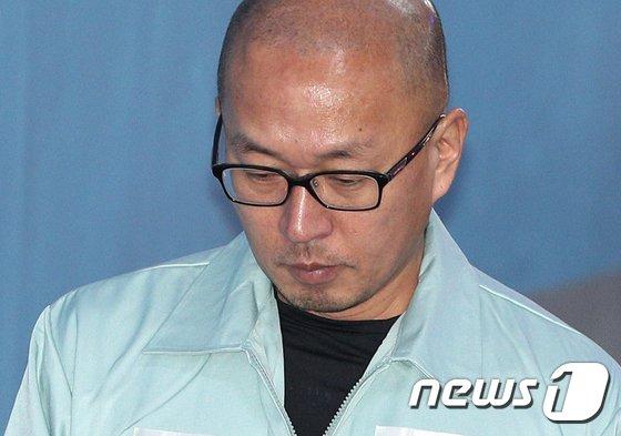 차은택 전 창조경제추진단장 © News1 신웅수 기자