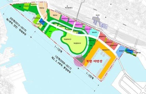 야영장 위치도/제공=부산항만공사