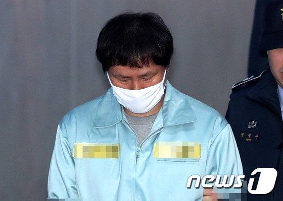 박근혜 정부 시절 국가정보원의 특수활동비 수십억원을 상납받은 혐의로 구속된 안봉근 전 청와대 국정홍보비서관.  © News1