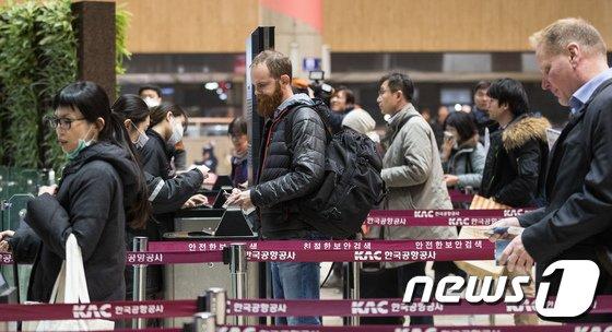 [사진]김포공항 국제선 운항 재개