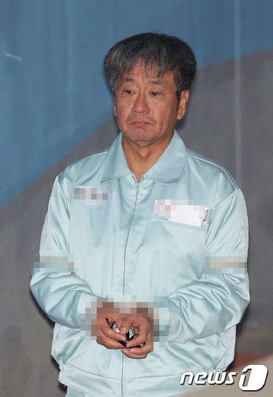[사진]이종명 전 국정원 3차장 '구속적부심사'