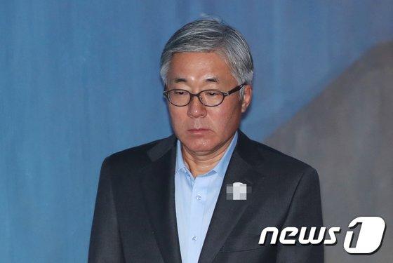 [사진]법원 출석하는 김종덕
