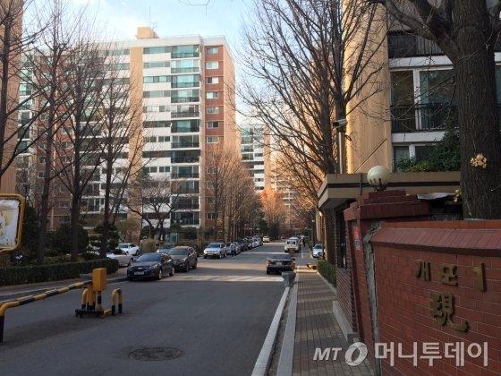 서울시 '금연아파트 1호'로 지정된 강남 개포현대1차 아파트./사진=남형도 기자