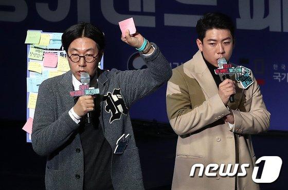 [사진]김영철-양세찬 '금연 토크'
