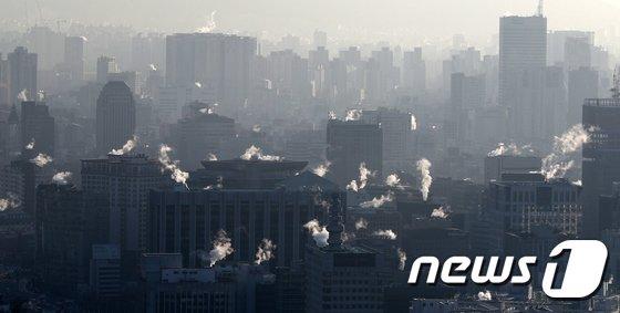 [사진]한파에 꽁꽁 언 서울 도심