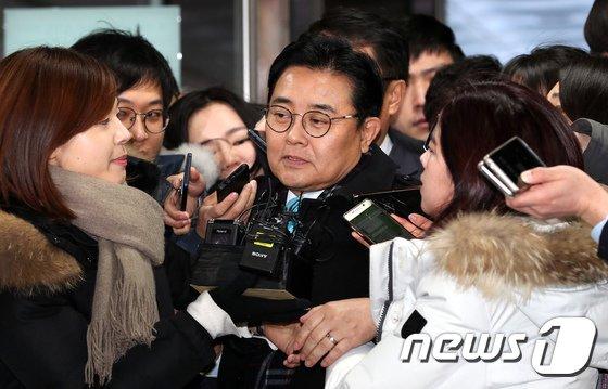 [사진]전변헌, 두 번째 영장심사