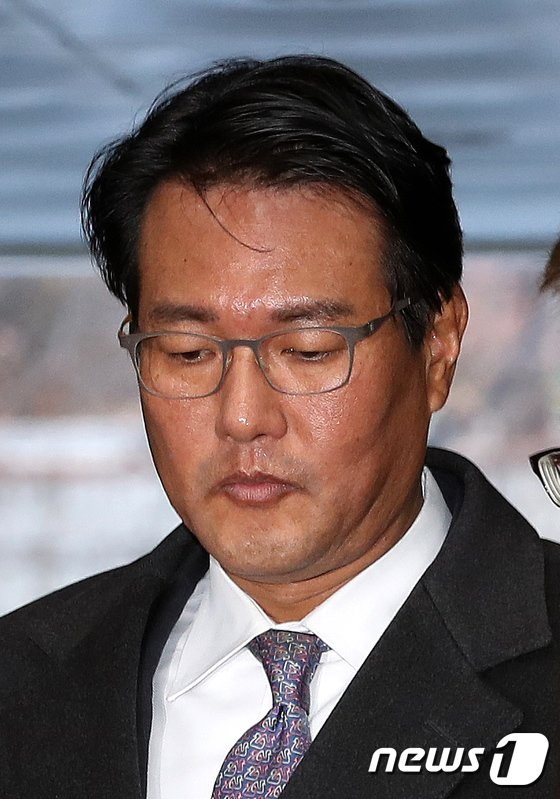 [사진]김태효 전 靑비서관 법원 출석