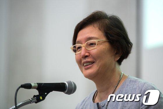 김혜숙 이화여대 총장 © News1 성동훈 기자