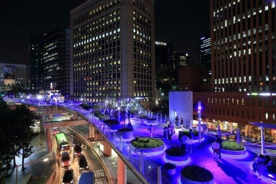 23일 서울로 7017에서 크리스마스 축제가 진행된다. /사진제공=서울시