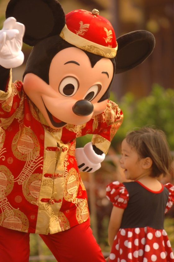홍콩 디즈니랜드. /사진제공=디즈니<br />