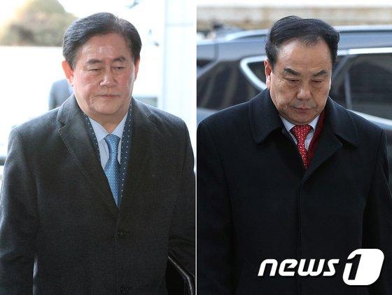 [사진]최경환-이우현 의원 '운명의 날'