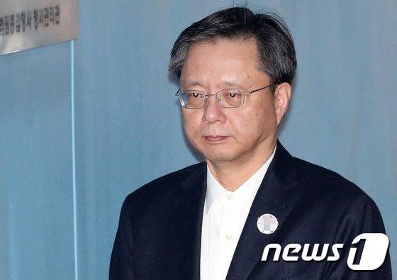 우병우 전 민정수석 © News1 허경 기자