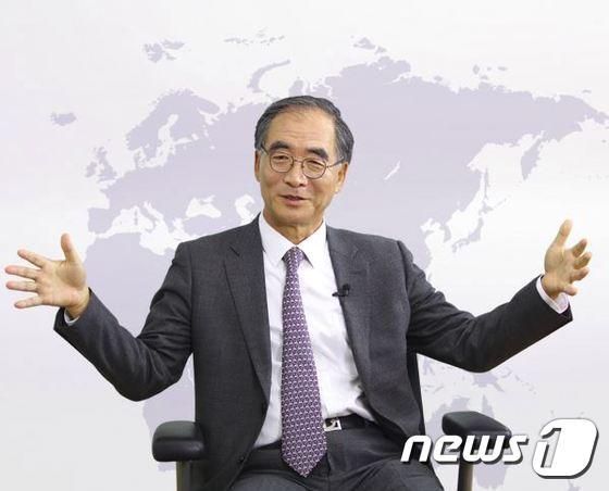 김동녕 한세예스24홀딩스 회장(한세예스24홀딩스 홈페이지서 갈무리)© News1