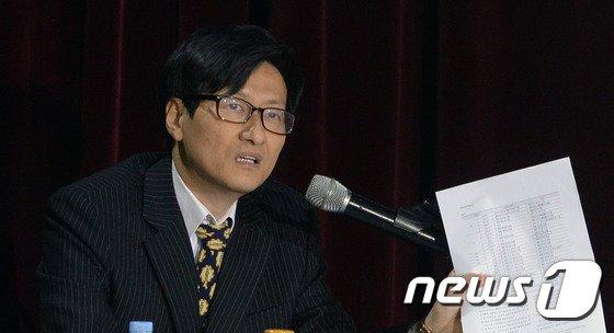 강규형 전 KBS 이사. © News1