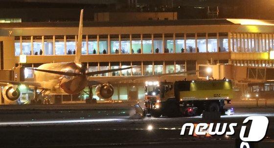 제주시 제주국제공항 활주로./뉴스1 © News1 이석형 기자