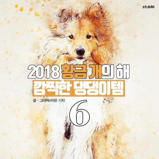 [카드뉴스] 2018 황금 개의 해…깜찍한 '댕댕이템' 어때?