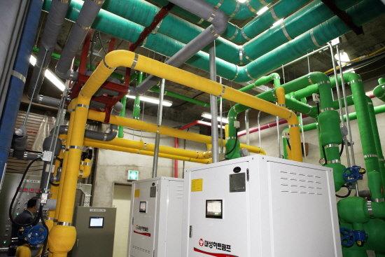 삼육대, 친환경 복수 지열공 냉·난방시스템 가동