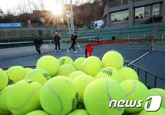 [사진]'대한민국에 부는 테니스 붐'