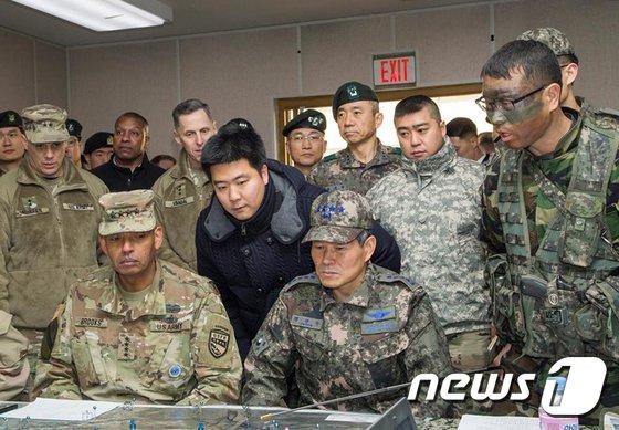 한미 군 당국이 최근 유사시 북한에 침투해 핵무기를 포함한 대량살상무기(WMD)를 제거하는 연습을 실시했다. (주한미군 페이스북) 2017.12.17/뉴스1