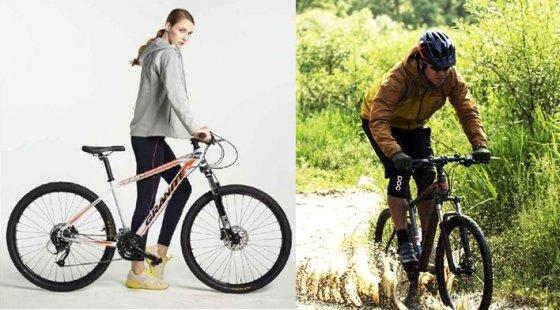 알톤스포츠의 '그라니트'(왼쪽)와 삼천리자전거의 '아팔란치아' / 사진제공=알톤스포츠, 삼천리자전거