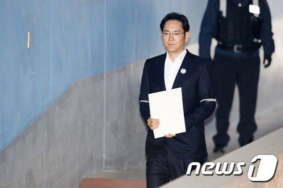 [사진]항소심 선고 공판 앞둔 이재용