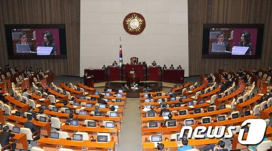 국회 본회의장. 2018.2.6/뉴스1 © News1 안은나 기자
