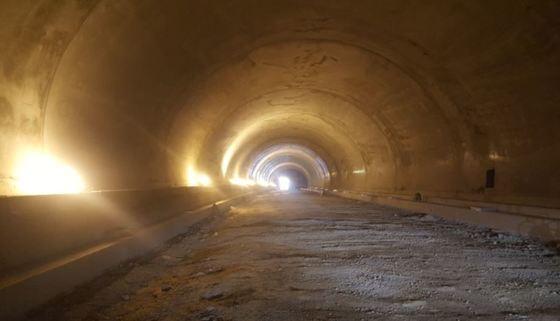 서초역~방배로 터널 내부(서울시 제공).© News1