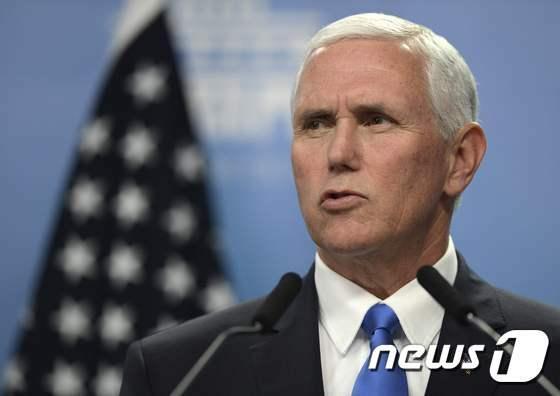 마이크 펜스 미국 부통령. © AFP=뉴스1