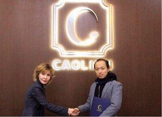 (좌측부터)카오리온코스메틱스 주은희 회장,  <br />  미국 마케팅 대행 업체 BC Media 다니엘 고 대표 /사진제공=카오리온코스메틱스