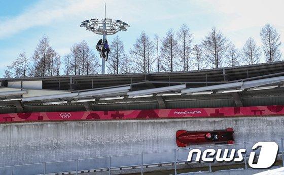 [사진]평창동계올림픽 봅슬레이 훈련