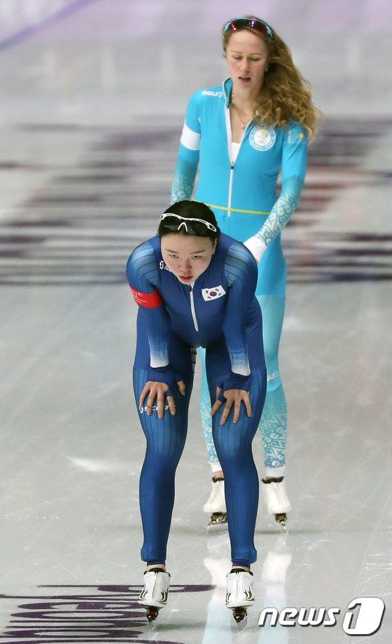 [사진]노선영 '후회없는 경기'