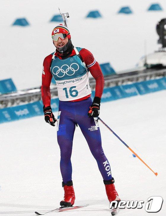 [사진]티모페이 랍신, 12.5km 추적 22위로 마무리