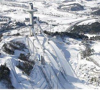 스키점프 경기가 열리는 알펜시아 스키점프 경기장/사진=평창 동계올림픽 공식 홈페이지