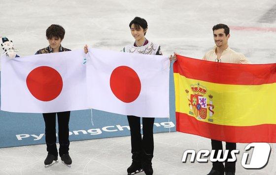 [사진]남자 싱글 피겨의 수상자들