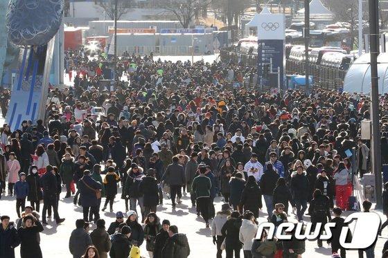 [사진]'엄청난 인파 모인 올림픽파크'